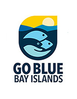 go blue bay islands logo