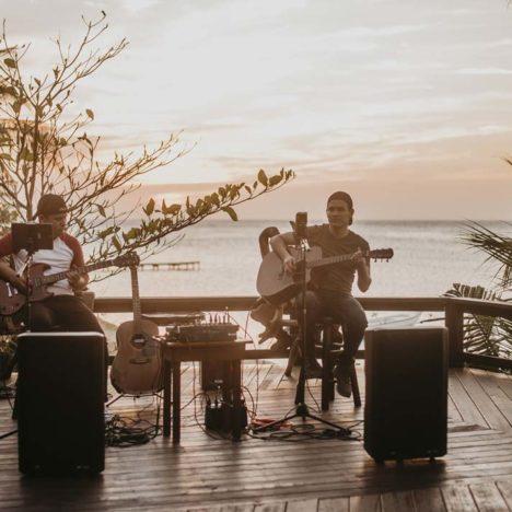 Živá hudba v Tranquilseas