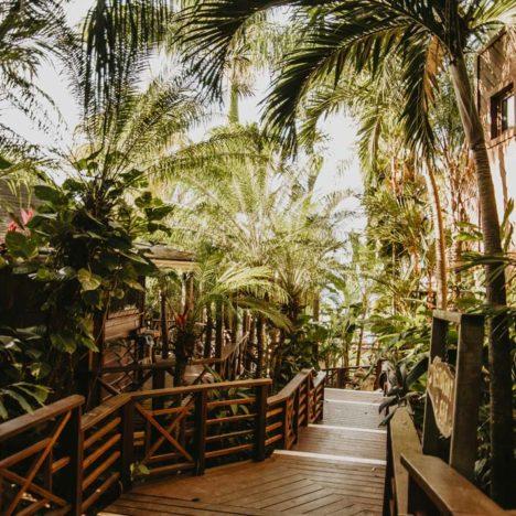 Vstup do tropické zahrady Tranquilseas