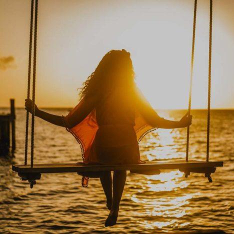 Západ Slunce v Karibiku